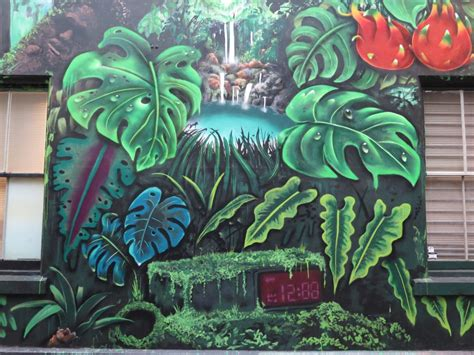 Grafiti Osis : Makatron's Urban Jungle Oasis