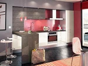 dix idees d39agencement pour cuisines ouvertes sur le salon With agencement de cuisine ouverte