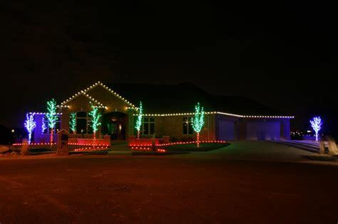 christmas light installation phtots gallery