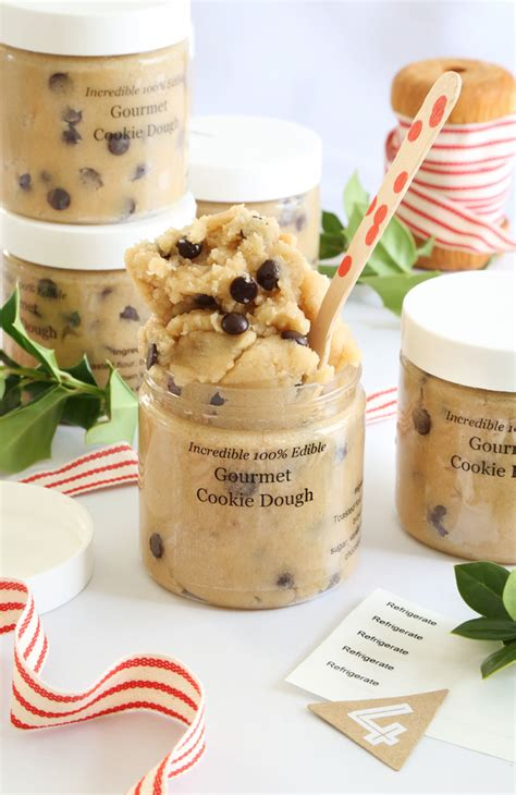 gift  gourmet toasted cookie dough   jar