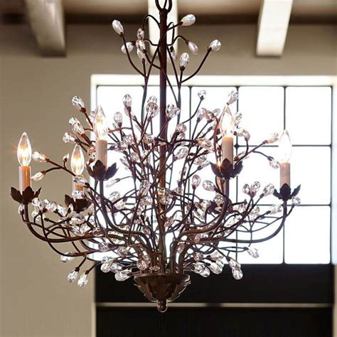 6 lights luxury chandelier iron retro vintage ceiling