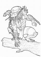 Predator Alien Coloring Drawing Owl Xenomorph Deviantart Bender18 Drawings Aliens Ronniesolano Tattoo Kill Comic Marines Adult Chrisozfulton Colonial Printable Fiction sketch template
