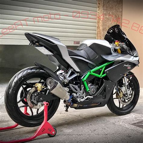 Modifikasi Kawasaki Pulsar 200ns by Viral Modifikasi Bajaj Pulsar 200ns Ala Kawasaki