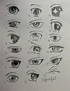 2012 Solncedei 18 Ways How To Draw Anime Eyes Done By ...