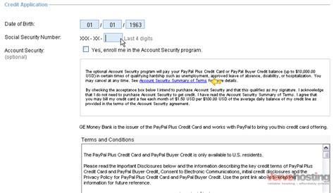 apply   paypal credit card knowledgebase