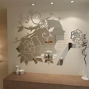 online get cheap fairy flower aliexpresscom alibaba group With mirror wall decals