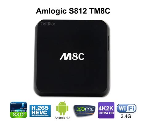 android h android 4 4 smart tv box amlogic s812 with
