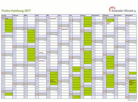 ferien hamburg  ferienkalender zum ausdrucken