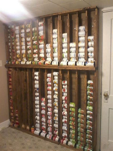 kitchen food storage ideas diy canned goods storage the prepared page