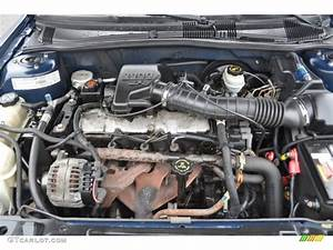 2000 Pontiac Sunfire Se Coupe 2 2 Liter Ohv 8