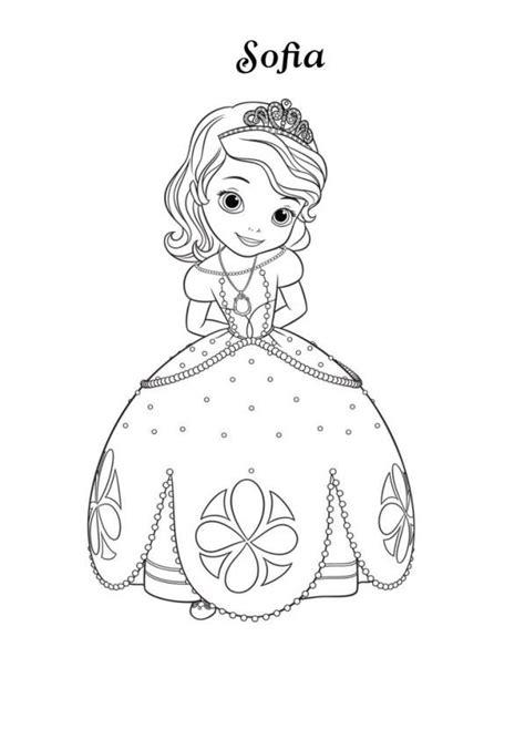 Kleurplaat Gezicht Konijn by Dibujos Para Colorear De La Princesa Sofia Dibujalandia