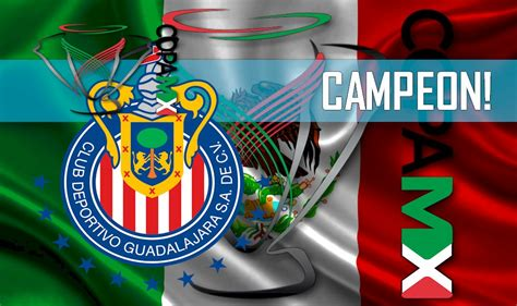chivas guadalajara campeon copa mx  winner  night