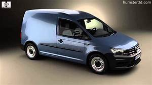 Volkswagen Caddy Panel Van 2015 By 3d Model Store