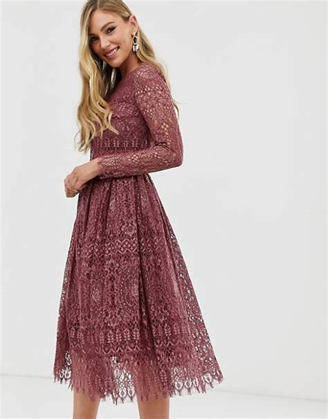 Lace Dresses Long And Sleeved Lace Dresses Asos