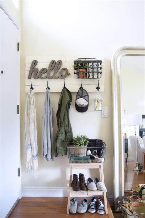 diy fun personalized wall mounted coat hanger almafiedcom