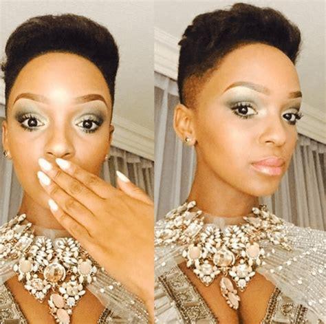 Celebs SAMA Awards Hair