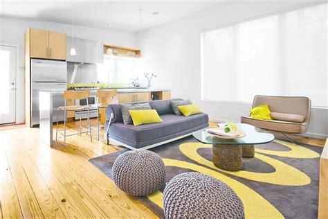 deco chambre jaune et gris d 233 co salon gris et jaune 25 inspirations fascinantes