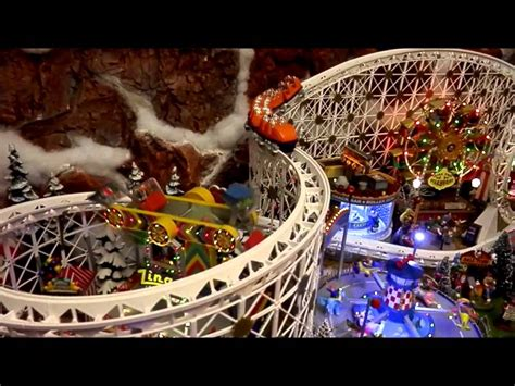 department  lemax christmas village   youtube