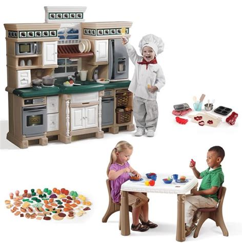 deluxe kitchen play set play kitchens by step2