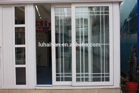 2016 sale modern design four panel glass pvc