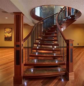 Interior Hardwood Flooring - Traditional - Staircase