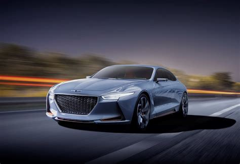 Hyundai New York by Hyundai Genesis New York Concept 2016 Une Future Rivale