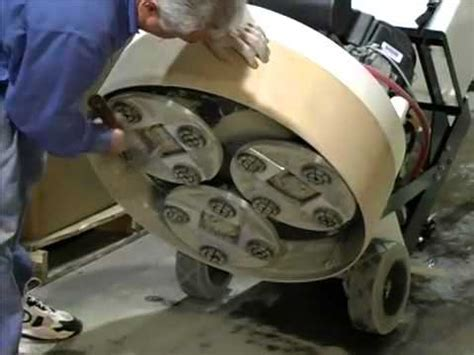 Aztec Products: Ultragrind Demo   for your concrete floor