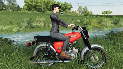 Fs19 Simson S51 Motorcycle Baltic Sea Map Youtube