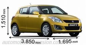 Suzuki Swift Coffre : comparatif des sous compactes avec dimensions et coffre ~ Melissatoandfro.com Idées de Décoration