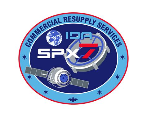 SpaceX CRS-7 patch: Seventh ISS resupply flight ...