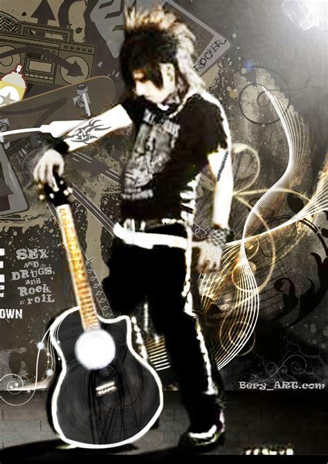 rock  roll wallpaper wallpapersafari