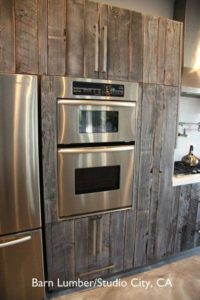 used ikea kitchen cabinets salvaged barn wood used to reface ikea cabinets rustic 6698