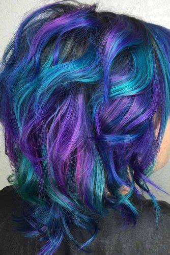 blue  purple hair colors   fabulous crazyforus