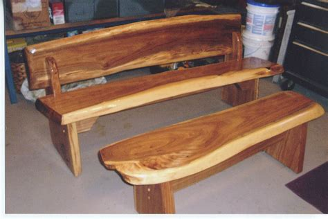 log furniture bench set rustic bench  table set