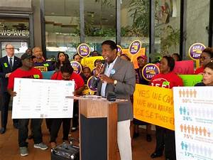 Broward County Commissioners Join Workers To Rally For ...