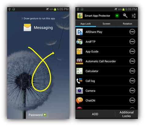 snapshots app for android how to protect individual apps and settings on android