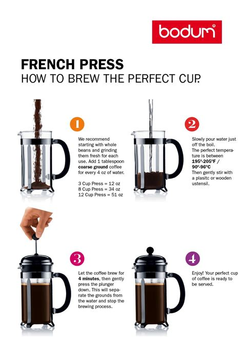 How to brew french press with crema.co. How-to Brew French Press Coffee | Coffee brewing, Coffee cups