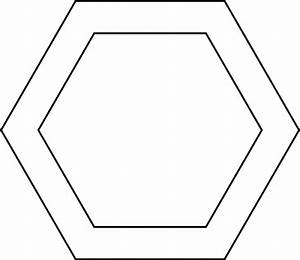 2 Concentric Hexagons
