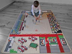 Tapis Jeu Enfant : tapitom tapis enfant basket ball 130 x 200 cm ~ Teatrodelosmanantiales.com Idées de Décoration