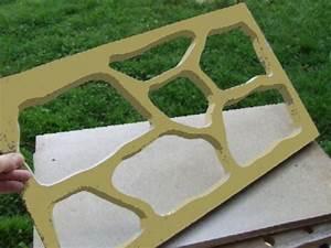 Faire Un Moule Pour Béton : moule dalle jardin construction maison b ton arm ~ Melissatoandfro.com Idées de Décoration