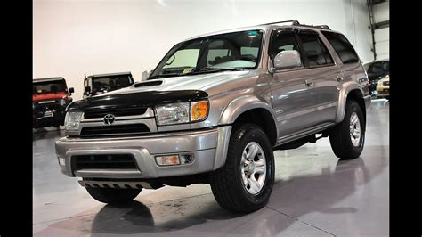 Toyota 4runner For Sale by Davis Autosports 2002 Toyota 4runner Sport For Sale