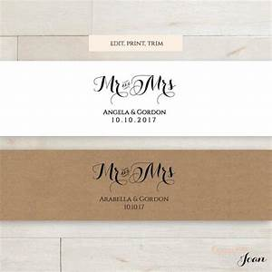 Invitation belly band printable template wedding belly for Wedding invitation belly band size