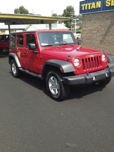 Jeep Wrangler Color Hardtop by Buy Used 2011 Jeep Wrangler Sport Unlimited 4x4