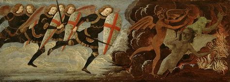 St. Michael And The Angels At War With The Devil By