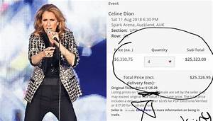 Outrage As Celine Dion Tickets 39sell Out Instantly39 Newshub