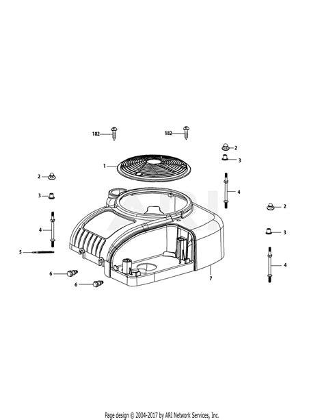 Mtd Phub Engine Parts Diagram For Shroud
