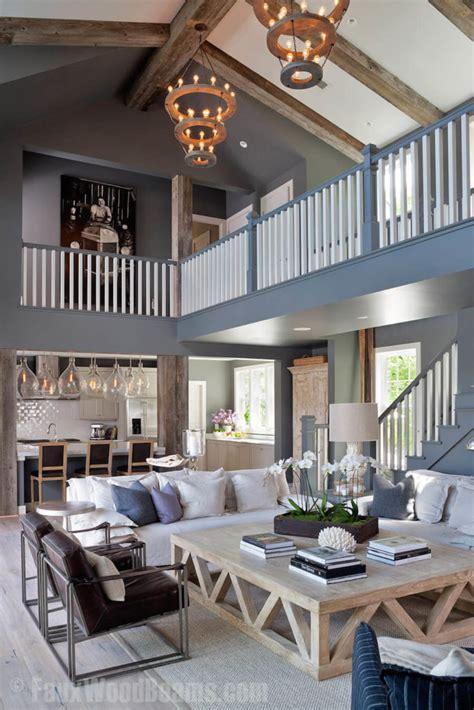 faux wood ceiling beam ideas