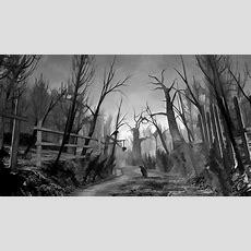 Creepy Forest Wallpaper Wallpapersafari