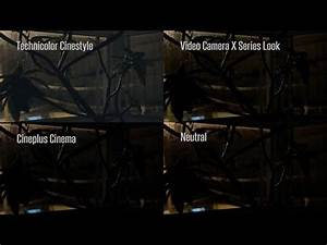 Cinestyle lut — the cinestyle profile was created by technicolor