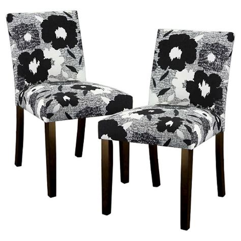 Upholstered Dining Room Chairs Target by Uptown Upholstered Print Dining Chair Set Of 2 Target